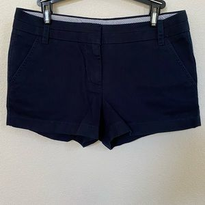 "J.Crew 3"" Chino Shorts in Navy Blue (size 4)"